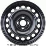 KRONPRINZ 6Jx15H2; 4x100x56, 5; ET39 teräsvanne: Chevrolet Aveo 10/11-