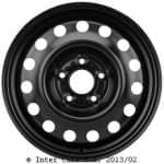 KRONPRINZ 6, 5J16CH; 5x114, 3x67; ET51; teräsvanne: Hyundai i30 03/12-;