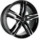 AVUS alumiinivanne AF6 BLACK POLISHED, 18x8. 0 5x112 ET35