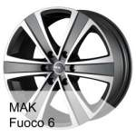 MAK alumiinivanne Fuoco 6, 17x7. 5 6x139. 7 ET0