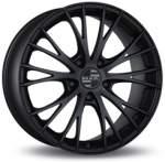 MAK alumiinivanne Rennen Mat Black, 19x1. 0 5x130 ET50