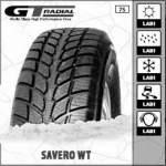 GT Radial maasturin kitkarengas talvirengas SAVERO WT 225/70R16 103T