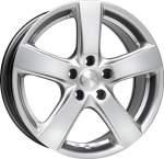 MAK alumiinivanne Web Silver, 15x6. 5 4x108 ET25