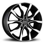 MAK alumiinivanne HIGHLANDS BLACK MIRRO, 20x8. 5 5x120 ET47