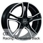 OZ alumiinivanne Racing AdrenalinaBlack, 18x8. 0 5x108 ET38