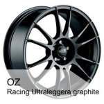 OZ alumiinivanne Racing Ultralegg Graph, 18x7. 5 5x100 ET48