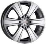 MAK alumiinivanne Fuoco 6 Silver, 17x7. 5 6x139. 7 ET50