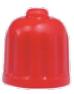 venttiilinhattu, punainen, remontoitu renkaisiin