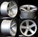 NANO diski alumiinivanne Nano BK086 Silver, 18x8. 5 5x120 ET24