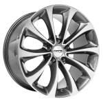 NANO diski alumiinivanne Nano BK845 Grey Polished, 19x9. 5 5x120 ET30