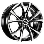 OZ alumiinivanne MSW Cross Over BLK Polish, 17x7. 5 5x114. 3 ET40