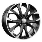 KiK alumiinivanne KC740 Black Polished, 17x7. 0 5x114. 3 ET50 keskireikä 67
