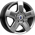 KiK alumiinivanne Ellada Dark Platinum, 16x6. 5 5x118 ET50 keskireikä 71