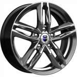 KiK alumiinivanne Sayan Dark Platinum, 16x6. 0 5x100 ET38 keskireikä 57
