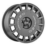 OZ alumiinivanne Rally Racing Graphite, 18x8. 0 5x108 ET45 keskireikä 75