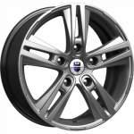 KiK alumiinivanne Prime Dark Platinum, 17x6. 5 5x139 ET40 keskireikä 98