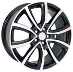 KiK alumiinivanne SKAD Ontario Black Polish, 17x7. 0 5x100 ET48 keskireikä 56