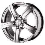 KiK alumiinivanne SKAD Sakura Hyper Silver, 15x6. 5 5x100 ET43 keskireikä 57
