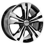 NANO diski alumiinivanne Nano BK754 Black Polished, 18x8. 5 5x112 ET35