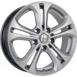 KiK alumiinivanne SKAD KL-271 Hyper Silver, 16x6. 5 5x114. 3 ET50