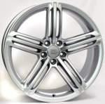Disks WSP alumiinivanne WSP Pompei Silver, 19x8. 5 5x112 ET43 keskireikä 66
