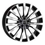 MAK alumiinivanne Krone Black Mirror, 17x7. 5 5x112 ET45 keskireikä 66