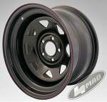 4MAD vanne Off Road musta 15x8 Et-25 (5x114, 3)