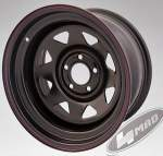 4MAD vanne Off Road musta 16x8 Et-25 (5x114, 3)
