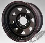 4MAD vanne Off Road musta 15x8 Et-25 (6x139, 7)