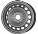 MW 5, 5Jx15H2; 4x100x60; ET 36: teräsvanne: Renault Twingo III 09/14-; (