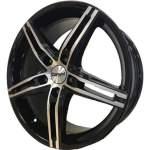 Carwel alumiinivanne Alpha Black Polish, 17x7. 0 5x112 ET40 keskireikä 57