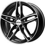 Carwel alumiinivanne Tau Black Polished, 16x6. 5 5x114. 3 ET45 keskireikä 67