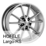 HOFELE alumiinivanne Largo20, 20x9. 0 ET keskireikä 71