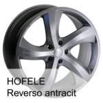 HOFELE alumiinivanne Reverso19, 19x8. 5 ET keskireikä 57