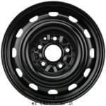 KRONPRINZ 6, 5x16 H2; 5x127x71, 5; ET40; teräsvanne: Fiat Freemont 09/11-