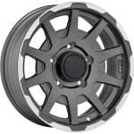 SPARCO alumiinivanne Dakar Mat Grey Pol, 16x5. 5 ET keskireikä 08