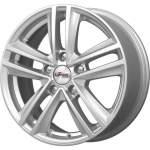 Carwel alumiinivanne iFree Katar Silver, 16x6. 5 ET keskireikä 57
