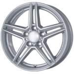 ALUTEC alumiinivanne M10 Silver, 17x7. 5 5x112 ET53 keskireikä 66