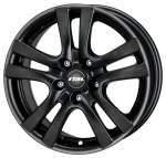 RIAL 7, 00x16 5x108 ET46 alumiinivanne Como Racing Black (ZIMA)