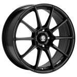 OZ alumiinivanne Sparco Asseto gara black, 17x7. 0 5x114. 3 ET45