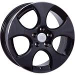 Disks WSP alumiinivanne WSP Ciprus Black Polished, 18x7. 5 5x112 ET51