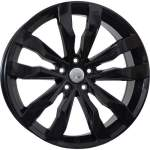 Disks WSP alumiinivanne WSP Cobra Glossy Black, 19x8. 0 5x112 ET47
