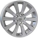 Disks WSP alumiinivanne WSP Dora Silver, 17x7. 0 5x100 ET55 keskireikä 56