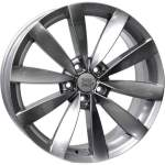 Disks WSP alumiinivanne WSP Rostock Silver, 18x8. 0 5x112 ET41 keskireikä 57