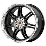 MOMO alumiinivanne Corse Black, 16x7. 0 ET keskireikä 00